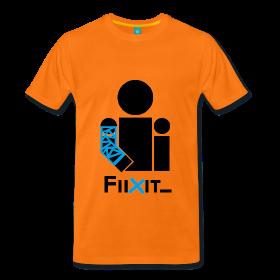 camiseta-naranja-azul